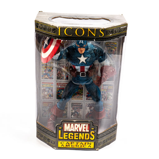 "Marvel Legends Icons Series 1: Masked Captain America 12"" Action Figure"