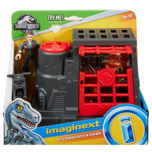 Jurassic World: Fallen Kingdom Imaginext Stygimoloch and Owen Playset