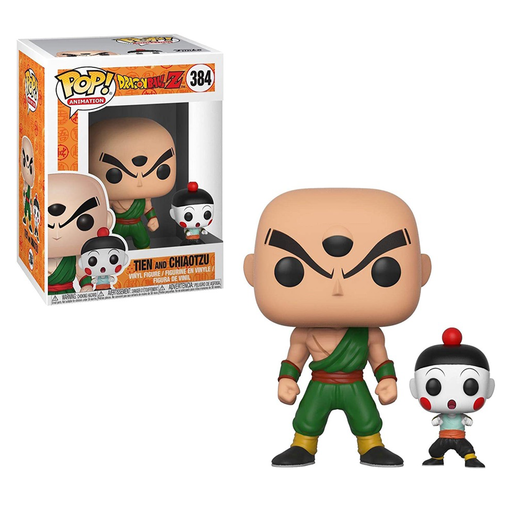 Funko POP! Dragon Ball Z Tien and Chiaotzu Pop! Vinyl Figure #384