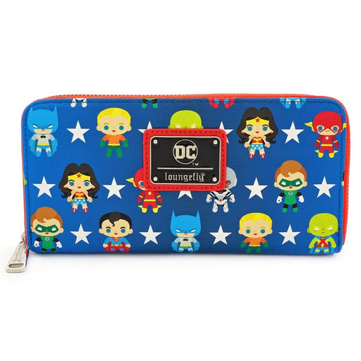 Justice League Chibi Print Wallet