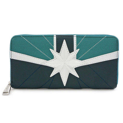 Marvel Captain Marvel Green Suit Wallet