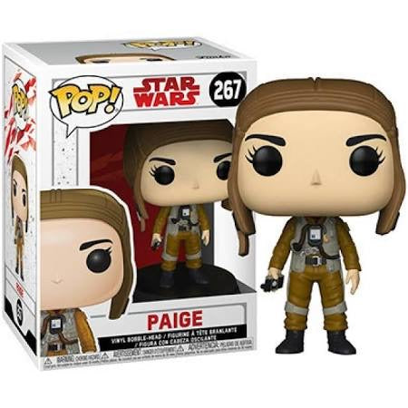 Funko POP! Star Wars: The Last Jedi Paige Pop! Vinyl Bobble Head #267