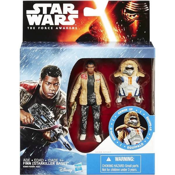 Star Wars The Force Awakens 3.75-Inch Figure Snow Mission Armor Finn