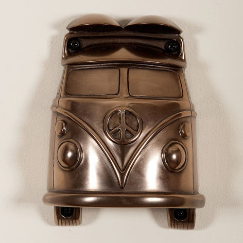 Campervan (Bronze Finish) Mounted Bottle Opener