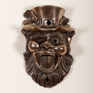 Bronze Leprechaun Wall Mounted Bottle Opener