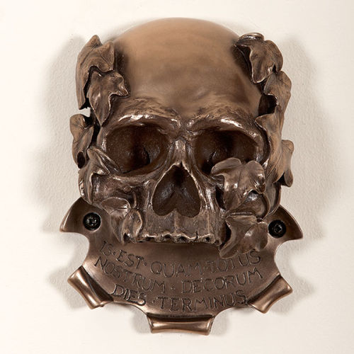 Memento Mori Skull (Bronze Finish)