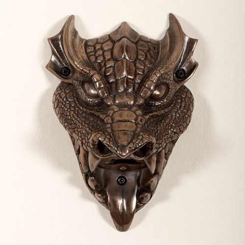 Bronze Dragon Wall Mounted Bottle Opener