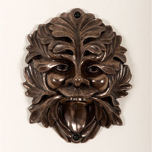 Bronze Greenman Wall Mounted Bottle Opener