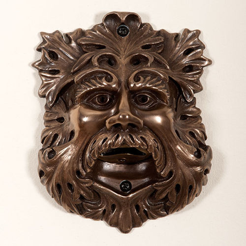 Bronze Greenman Wall Mounted Bottle Opene