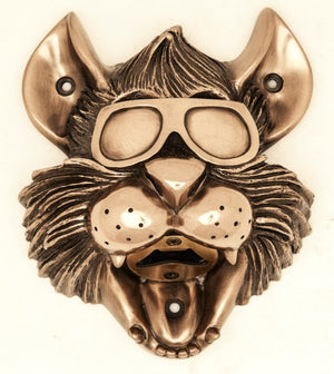 Bronze Kool Kat Wall Mounted Bottle Opener