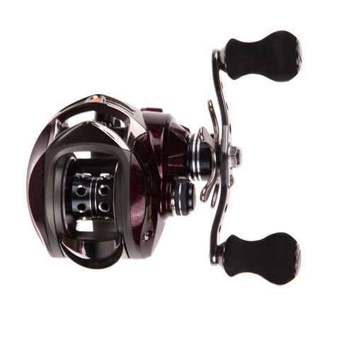 Saltwater Metal Frame Baitcasting Fishing Reel right hand 18+1 BB 7.0:1 steering-wheel