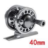 LEO Aluminum Alloy Fly Fishing Reel 2+1BB 1:1 CNC Fishing Reel Left/Right Hand Fly Fishing Wheel Wire Cup Diameter 40/50/60mm