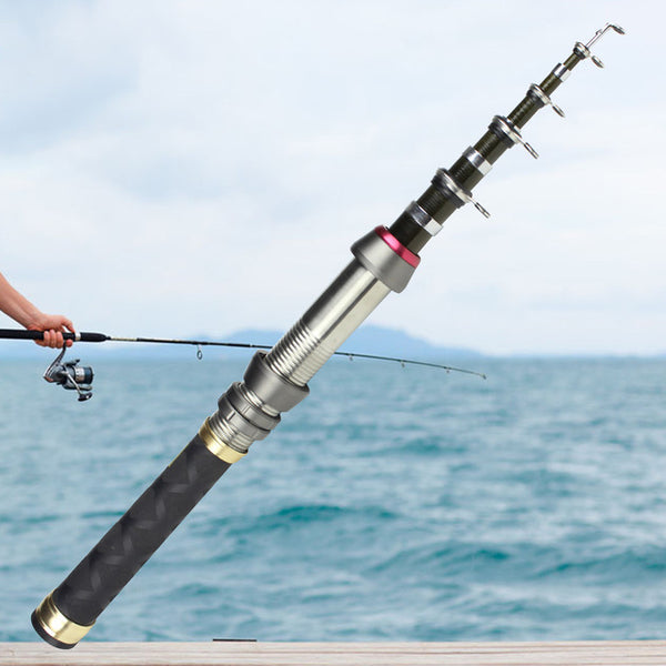 1.8M 2.4M Spinning Fishing Rod Mini Fishing Pole Ultrashort Dual-use Fishing Rod Carp Feeder Rod