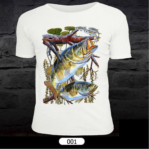 Maximumcatch Fly Fishing T-Shirt Short Sleeve Sports Clothes Unisex Clothing Fish Pattern