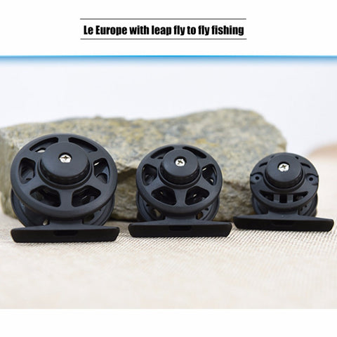 Ptatical PB40/50/60 Plastic Before Play Round with Vent Force Fly Reels Swap Left and Right Hand Fishing Vessel Hot Sales