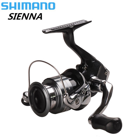 Shimano SIENNA Spinning Fishing Reel 1000/2500/4000FE 1+1BB XGT-7 Body Carretilha Pescaria Saltwater Carp Fishing Coil