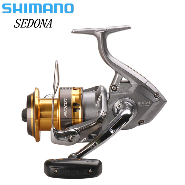 SHIMANO NEW SEDONA 6000 8000 Spinning Fishing Reel 3+1BB Hagane Gear Carretilha De Pesca Molinete Peche Saltewater Fishing Reel