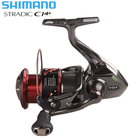 SHIMANO STRADIC CI4+ 1000HG 2500HG C3000HG Spinning Fishing Reel 6.0:1 HAGANE Gear X-Ship Saltwater Carp Fishing Reel