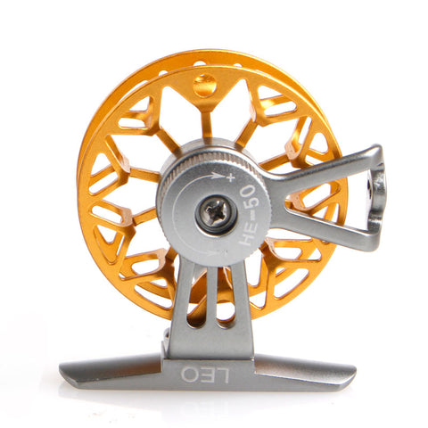 Ultra-light Former Ice Fishing Reels Wheel Fly Fishing Reel CNC Aluminum New