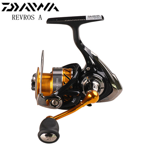 DAIWA REVROS A 2000 2500 3000 3500 4000 Spinning Fishing Reel with Air Rotor 5BB Spinning Wheel Saltwater Carp Fishing Coil