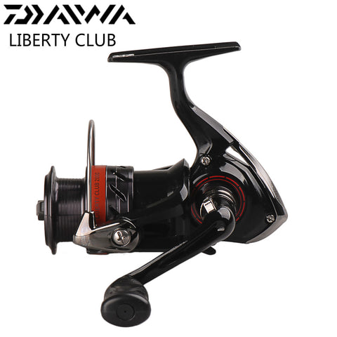 DAIWA LIBERTY CLUB Full Metal Spinning Fishing Reel 2000 3000 3500 4000 Carretilha Moulinet Peche Saltwater Carp Feeder