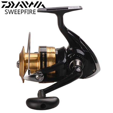 DAIWA SWEEPFIRE Spinning Fishing Reel 2000-4000 2 Ball Bearing Spinning Reel Molinetes e Carretilhas Saltwater Fishing Reels