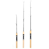 80cm Telescopic Winter Fishing Rods  Ice Fishing Rods Fishing Reels Pen Shape Fishing Tackle Tool Casting Hard Rod Pesca