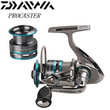 DAIWA PROCASTER Spinning Fishing Reel +Spare Spool 2000A 2500A 3000A 3500A 4000A Carretilha De Pesca Saltwater Carp Fishing Reel