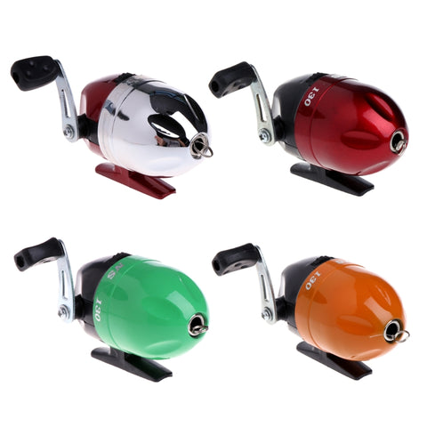 Metal Closed Face Fishing Reel Spinning Spincasting Wheel With Fishing Line New Drop Shipping