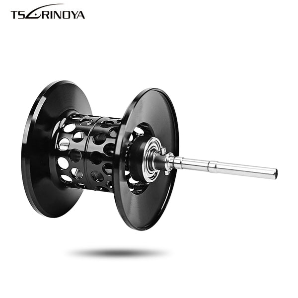 TSURINOYA Baitcast Reel Fishing Spool Wire Cup Aluminium Alloy Wire Cup Reel XF50 / XF150 Spare Parts Replacement Fishing