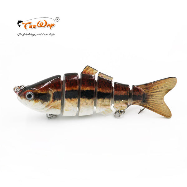 Lifelike Fishing Lures 6 Segment Swimbait Crankbait Hard Bait Slow 10cm 18g Isca Artificial Lure Fishing Tackle Fishing Wobblers
