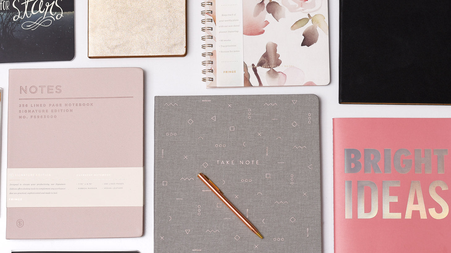 Shop Goal Planning Notebooks & Journals