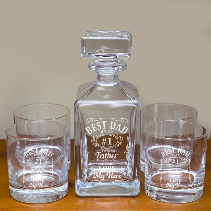 Decanter and Glasses Gift Set