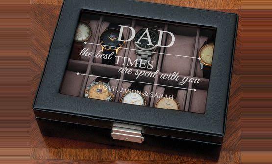 Personalised Dad WatchBox
