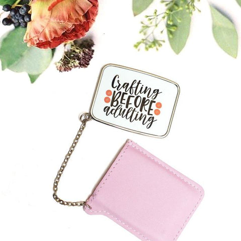 Personalised Pocket Mirror - Purpink Gifts