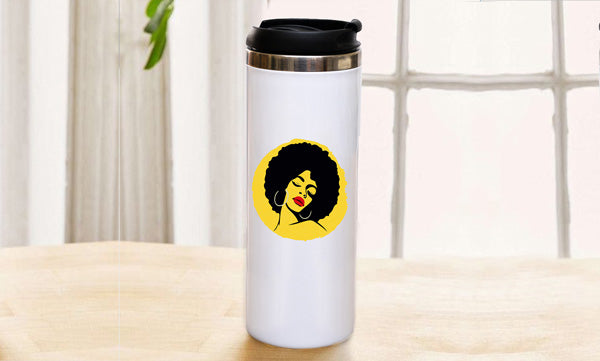 Personalised Slim Travel Mug