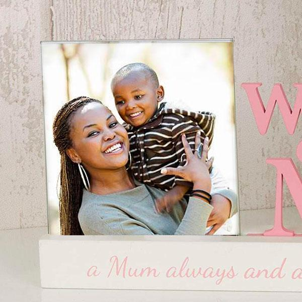 World's Best Mum Photo Frame