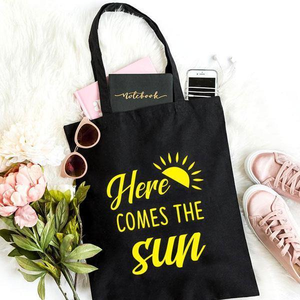 Here's the Sun Totebag