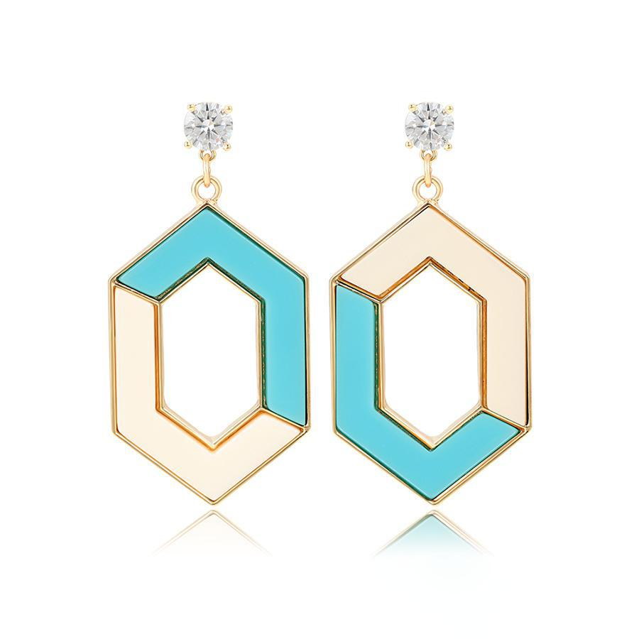 Date Night Aqua Earrings