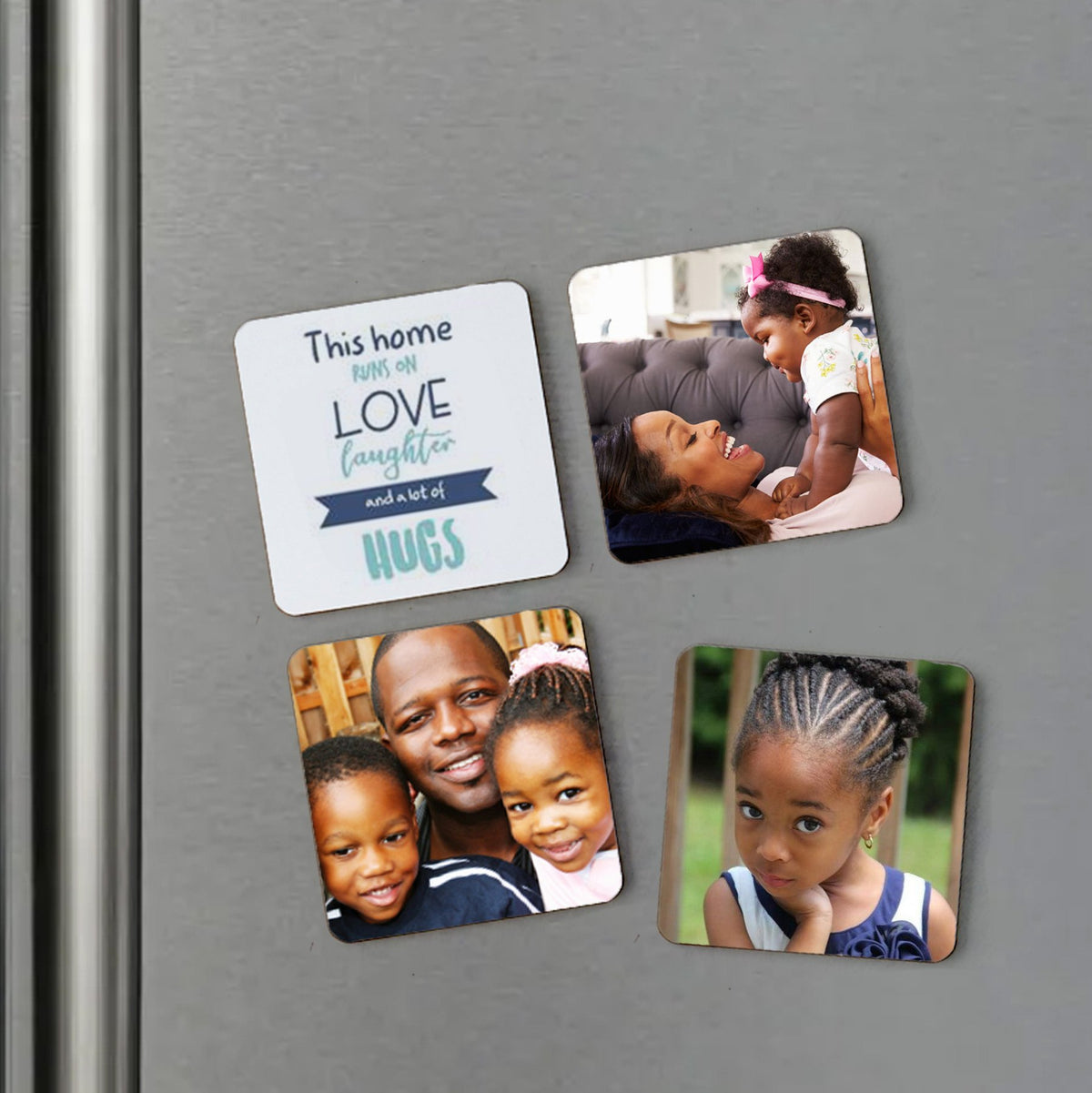 Personalised Square Fridge Magnets