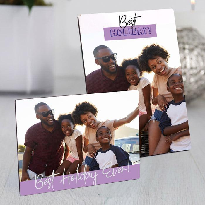 Personalised Photo Frame- Photo & Message
