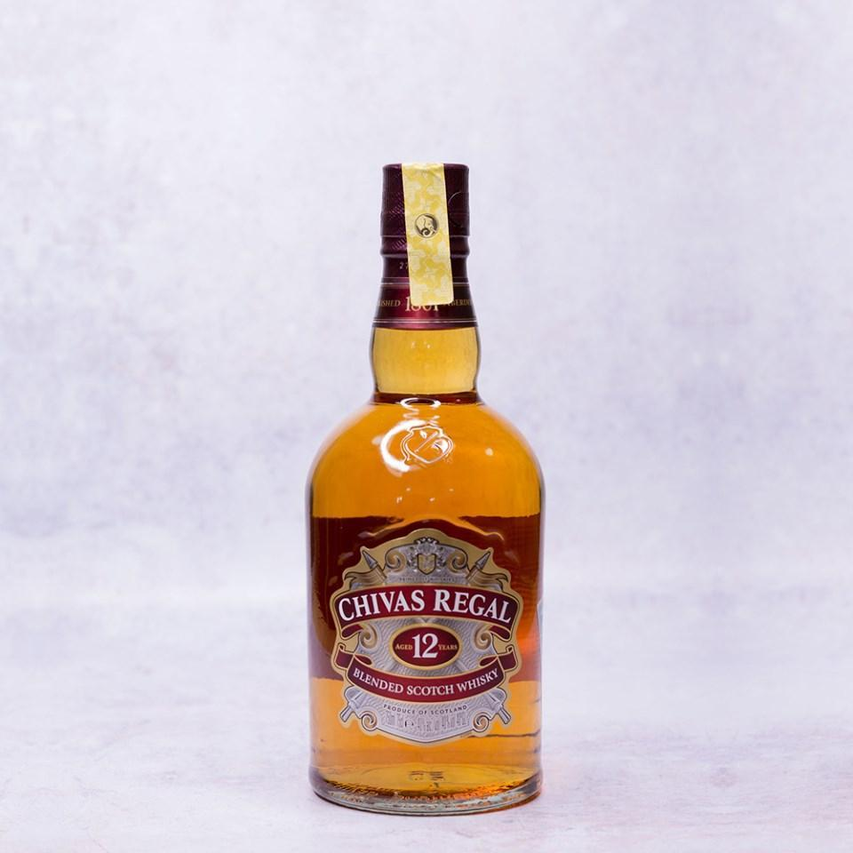 alcohol Chivas Regal 12 Year Whiskey