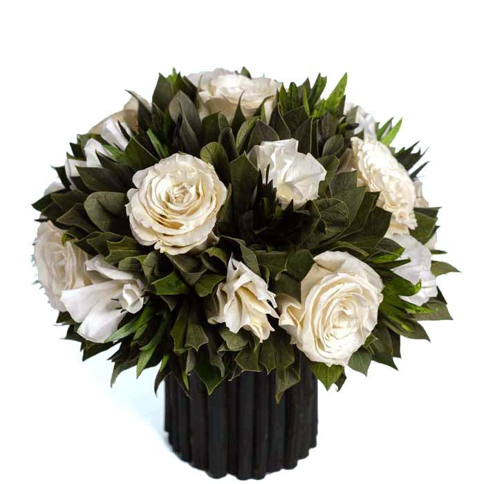 ForeverRoses™ White Pine Arrangement