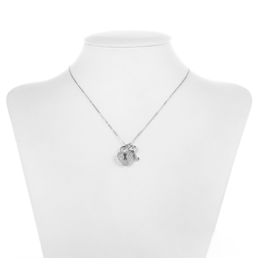 Locked in My Heart Necklace