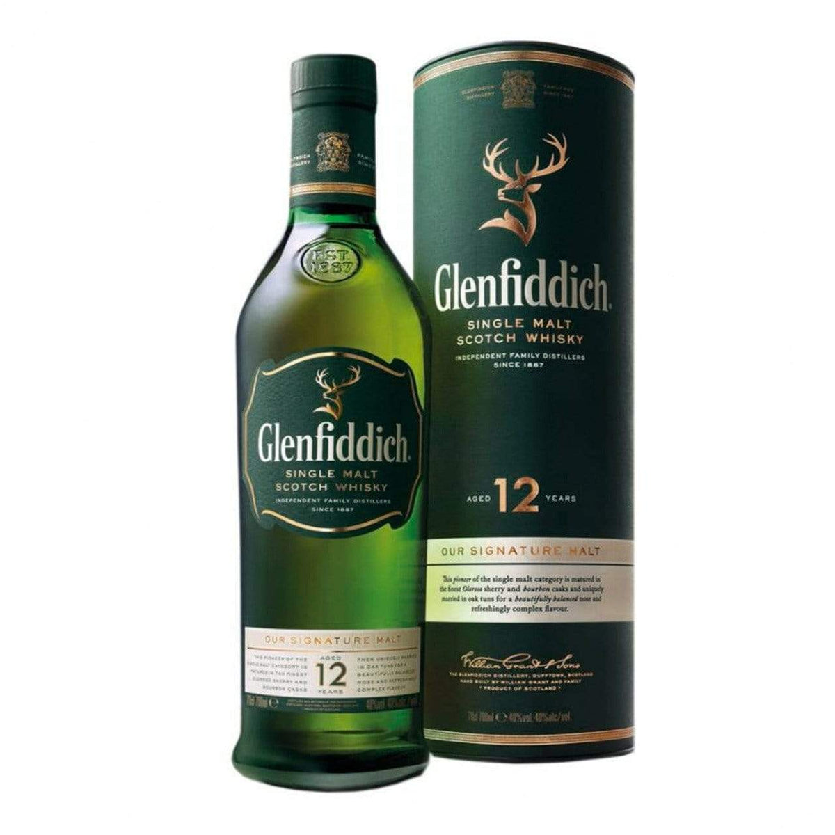 alcohol Glenfiddich 12 Year Old, 700ml