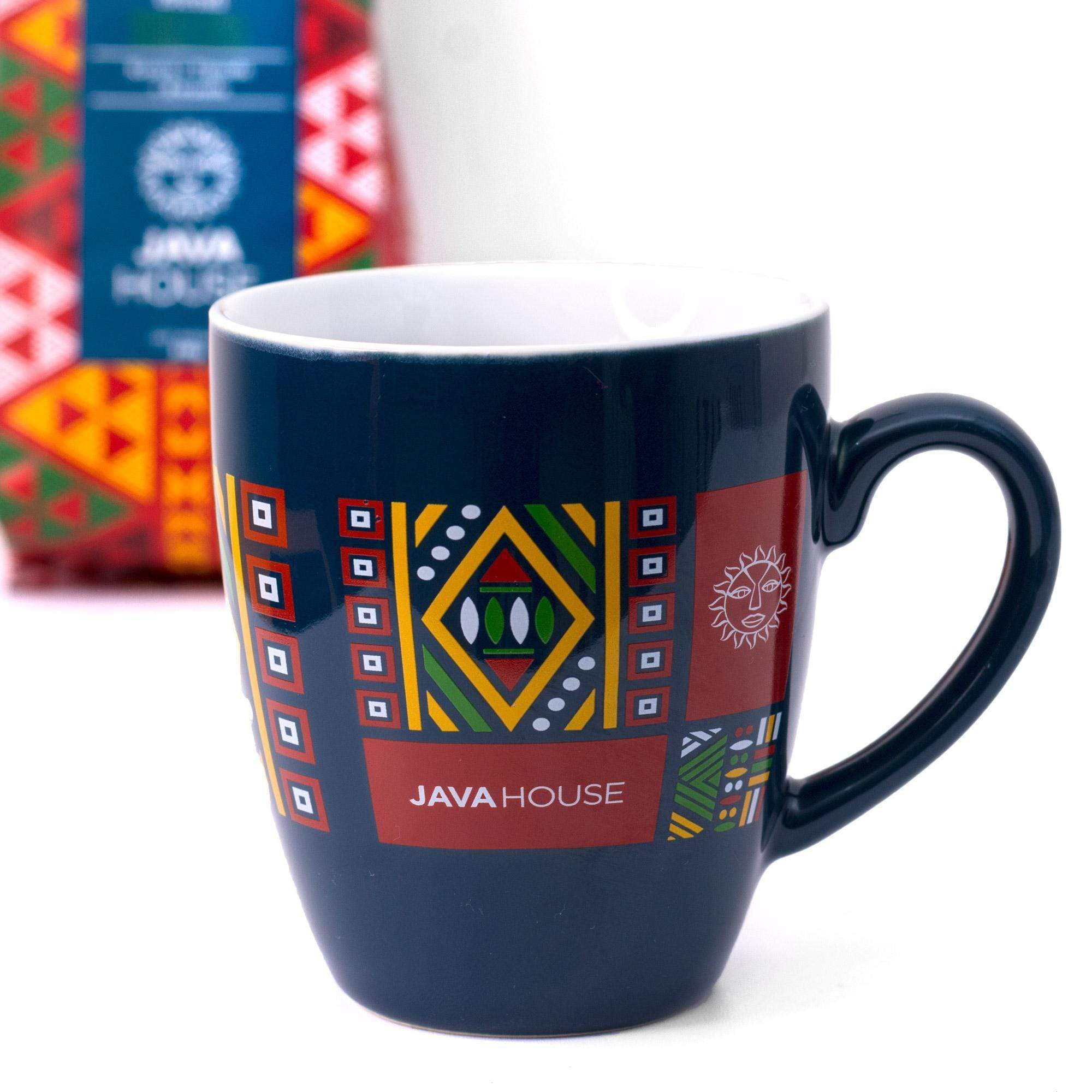 White Java Ceramic Mug