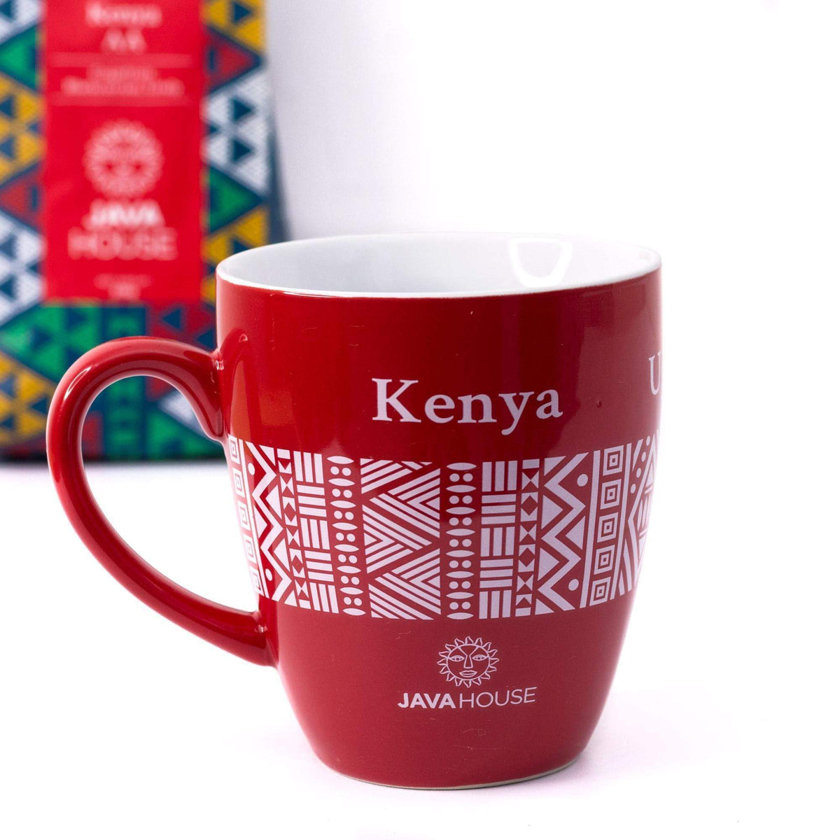 Red Java Ceramic Mug