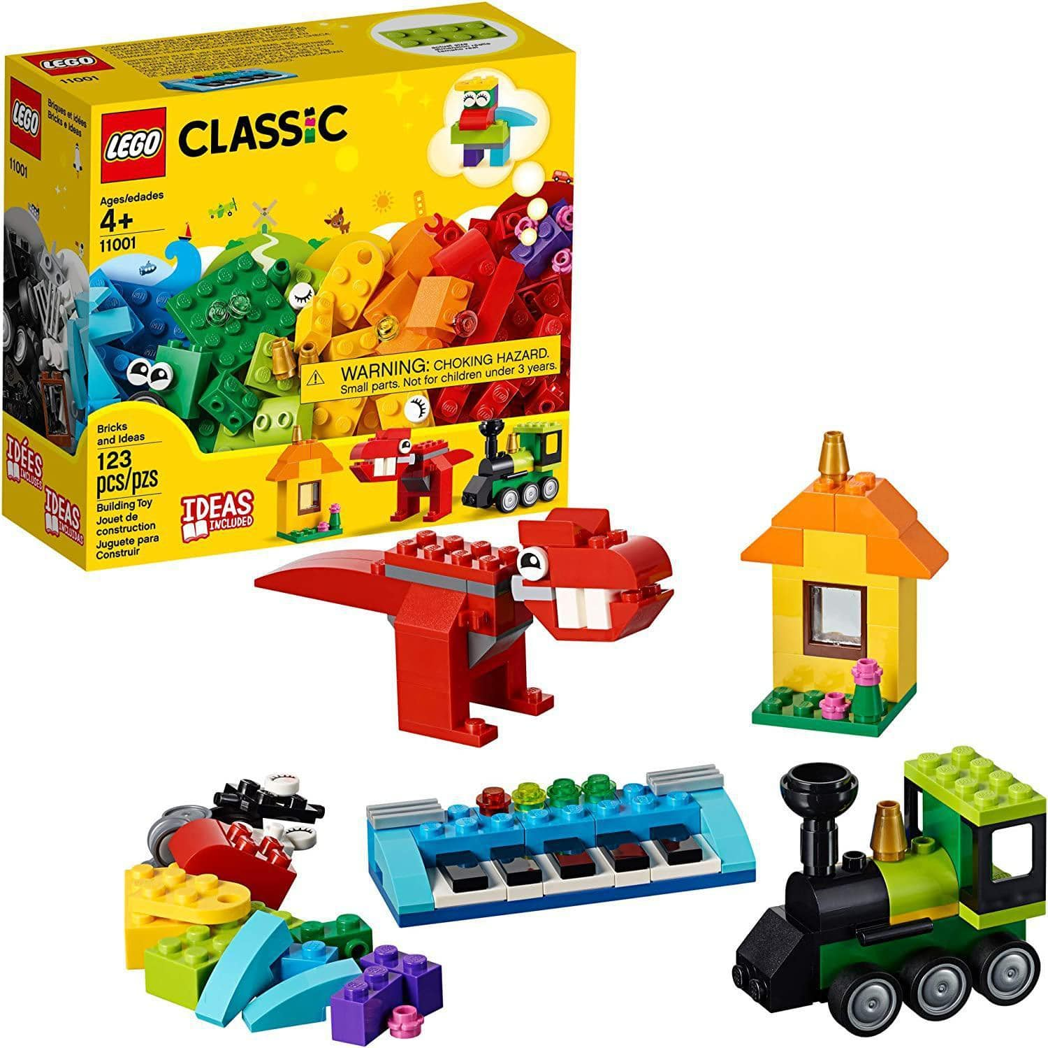 LEGO Classic - Bricks & Ideas Building Kit