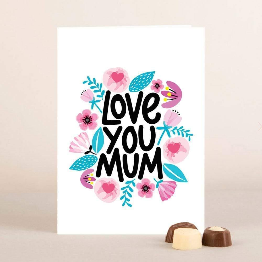 AddOns Love You Mum A6 Card