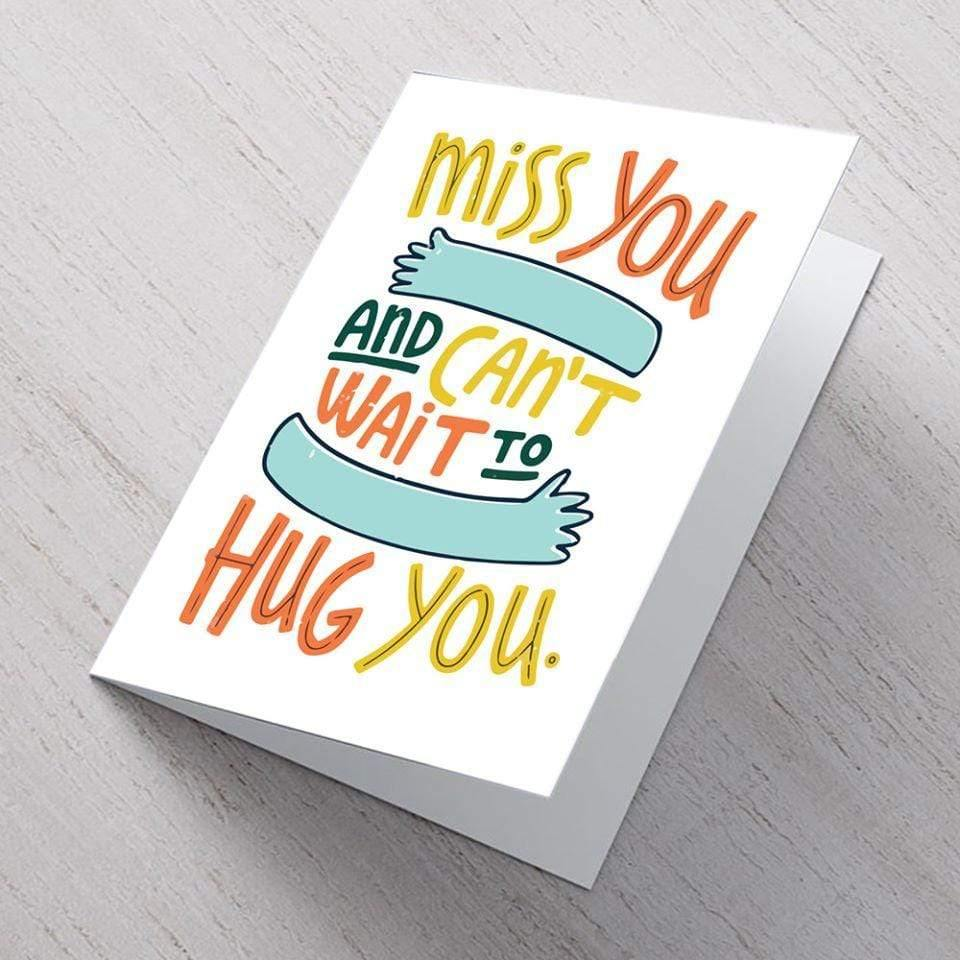 AddOns Miss You A6 Card